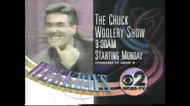 WCBS-TV's Chuck Woolery Show promo from The Look of America is CBS from 1991