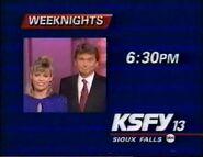 KSFY-TV Wheel of Fortune promo 1993-1994