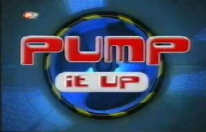 Pump it up title card