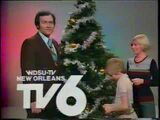 WDSU Christmas 1977