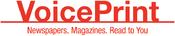 VoicePrint 1990 logo