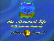 EWTN The Abundant Life Promo Bumper