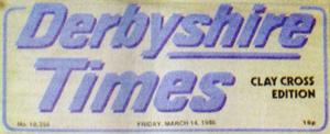 Derbyshire Times 1986