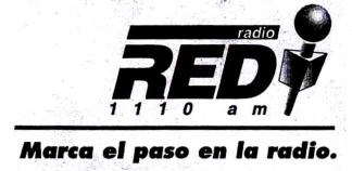Radio Red XERED-AM 1996