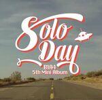 B1A4 Solo Day MV logo