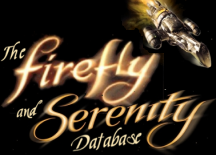 The Firefly and Serenity Database 4