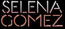 Selena Gomez logo 2009