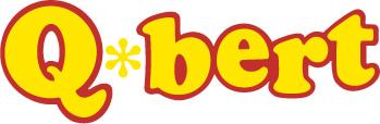 Qbert game logo
