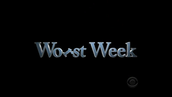 Worst week intertitle