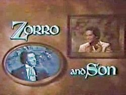 Zorro and Son6709