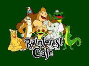 Rainforest cafe cartoon