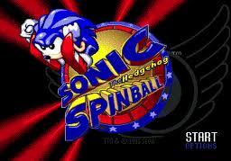 Sonic spinball logo