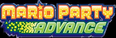 Mario Party Advance Logo