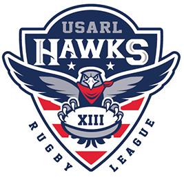USA hawks rugby league logo