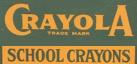 Crayola crayons 1934