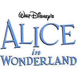 Disneys Alice in Wonderland large