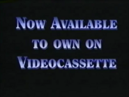 Now Available to Own on Videocassette (1994)