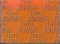 Super Jeopardy! Red Background