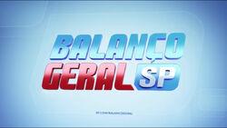Balanço Geral SP 2015 vinheta