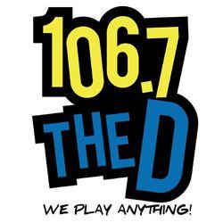 106.7 The D WDTW-FM