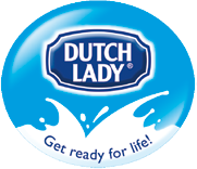 Dutch Lady splash logo