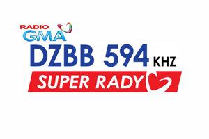 GMA Super Radyo DZBB 594 2014 logo