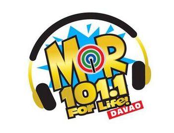 MOR 101.1 Davao new logo