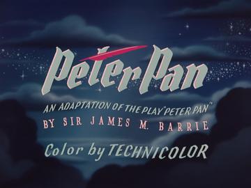 Peter Pan 1953 Logo