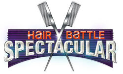 Hair battle spectacular logo