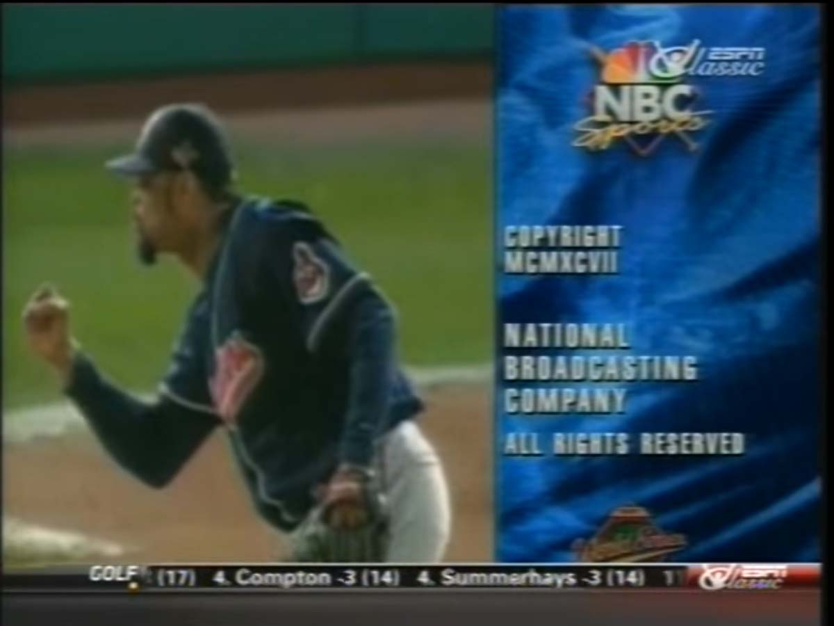 NBC Sports' The 1997 World Series - Game 7, Cleveland Indians Vs. Florida Marlins Video Close From October 26, 1997