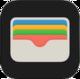 Apple Wallet iOS 9 icon