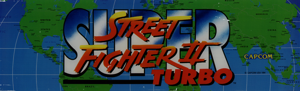 Street Fighter II Turbo marquee