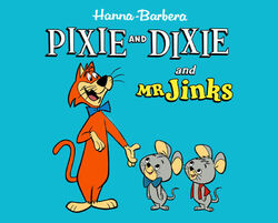 EBAY PIXIE AND DIXIE WITH MR JINKS PIC