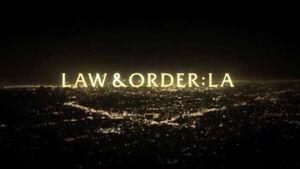 Law & Order LA Title Card