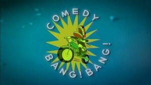 Comedy Bang! Bang! title card (TV series)