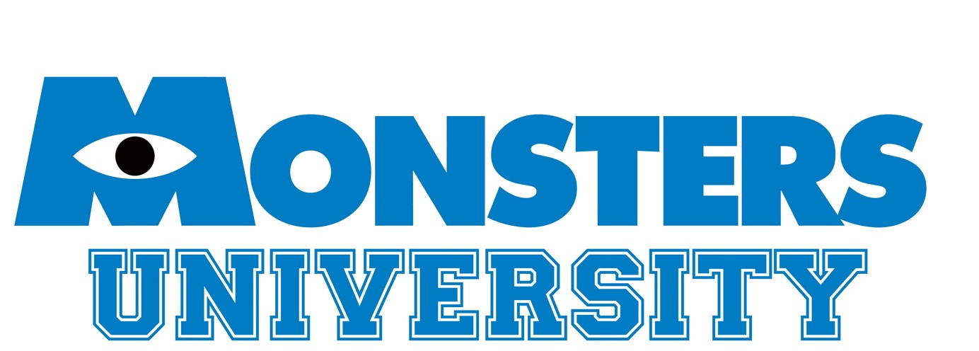 monsters university | logopedia | fandom poweredwikia