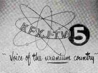 KFXJ-TV 1954 ID 2