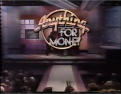 Anything for Money Promo