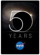 NASA 50th Logo RGB Hi