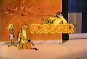 Supercade frogger