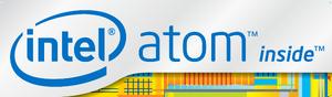 Intel Atom logo 2012