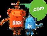 Nick Jr. Dot Com Plush Space Monkeys