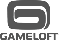 Gameloft logo flat