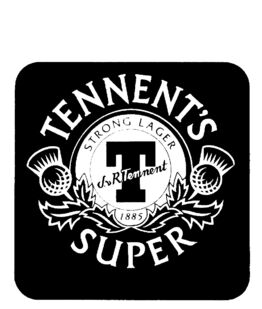 Old logo tennent's