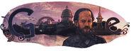 Google Fyodor Dostoevsky's 190th Birthday