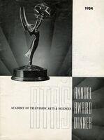 6th Primetime Emmy Awards poster