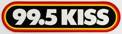 99.5 KISS logo