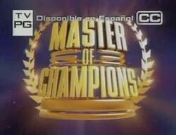 Masters of champions
