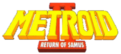 Metroid II Return of Samus logo