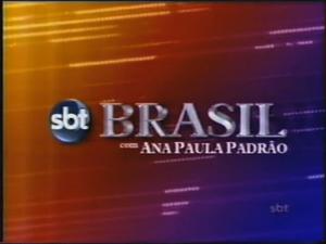 SBT Brasil com Ana Paula Padrão